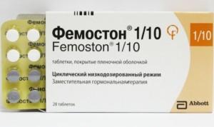 Фемостон (таблетки 1/5, 1/10 и 2/10) - отзывы врачей, пациентов и побочные эффекты