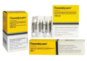 Мазь, свечи и таблетки пимафуцин: инструкция по правильному применению