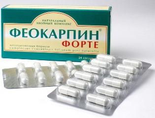 Таблетки Феокарпин - профилактика серьезных заболеваний у женщин и мужчин