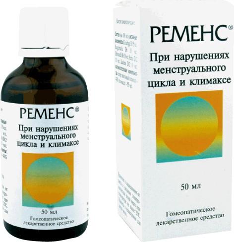 Гомеопатический препарат Ременс при климаксе и сбоях менструального цикла: инструкция по применению, цена, отзывы, аналоги